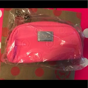 💗VS PINK PINK MONOGRAM COSMETIC POUCH